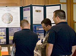 Engineering Science and Mechanics display at the College of Engineering Industry Partners Day