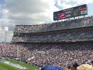 Beaver Stadium Nittany Lions vs. Wisconsin 2001 - photo by William Ames