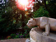Nittany Lion Shrine - Scultped by Heinz Warneke