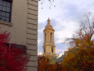 Old Main in the Fall - photo by William Ames